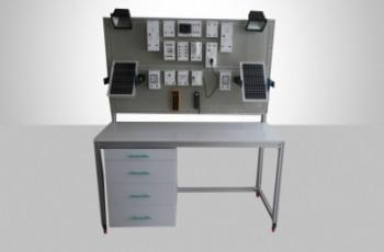 مجموعه آموزشی انرژی های خورشیدی تابلو برق خورشیدی  QVS-Solar –DC-T