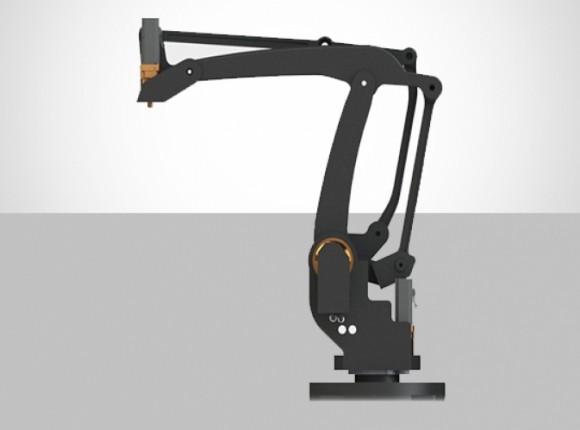 ربات صنعتی با وزن قابل حمل تا 35 کیلوگرم QV-PAL-4DEG-C